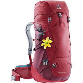 Deuter Futura 28 SL Backpack Women red
